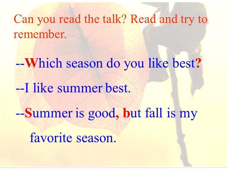 do you like summer