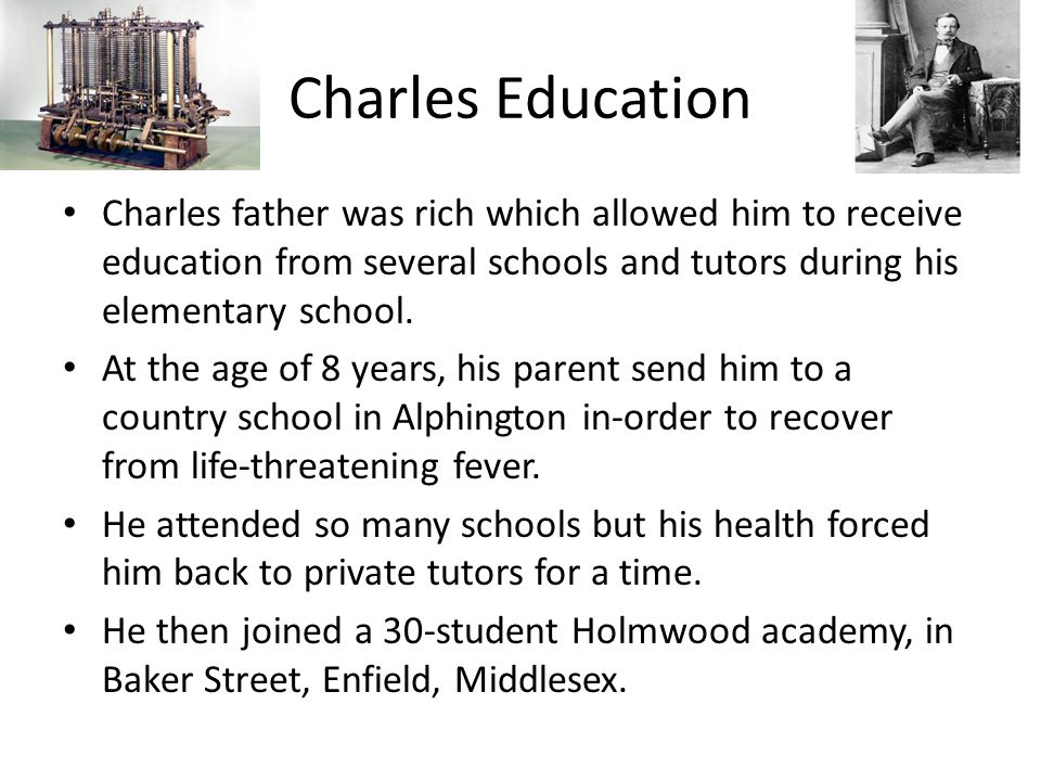 charles babbage parents