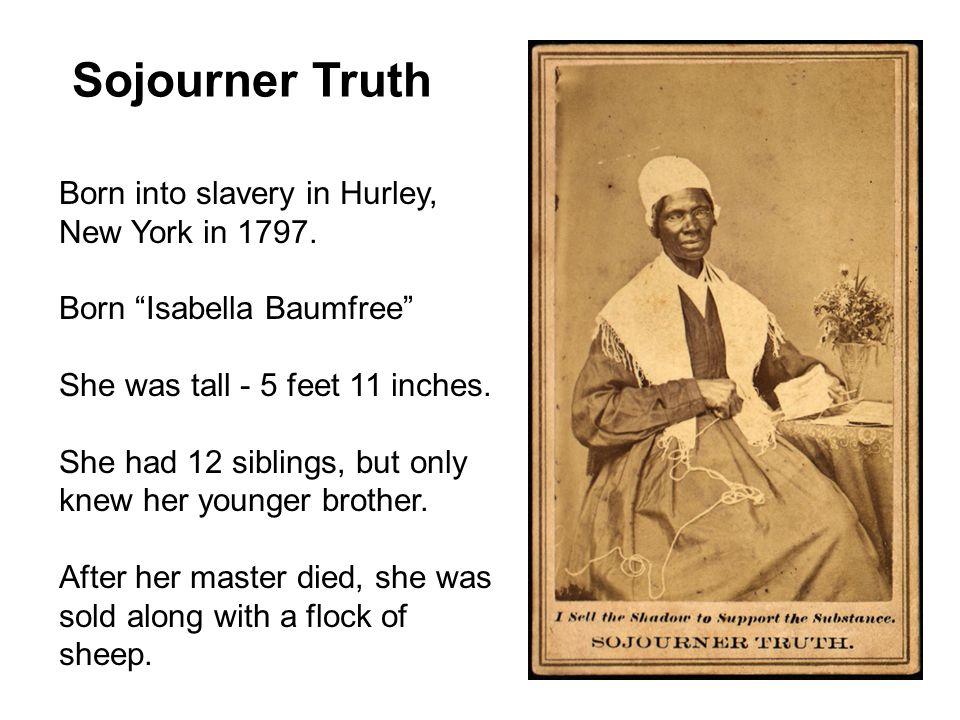 sojourner truth beliefs