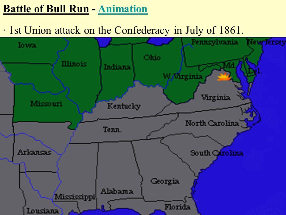 when was the battle of bull run