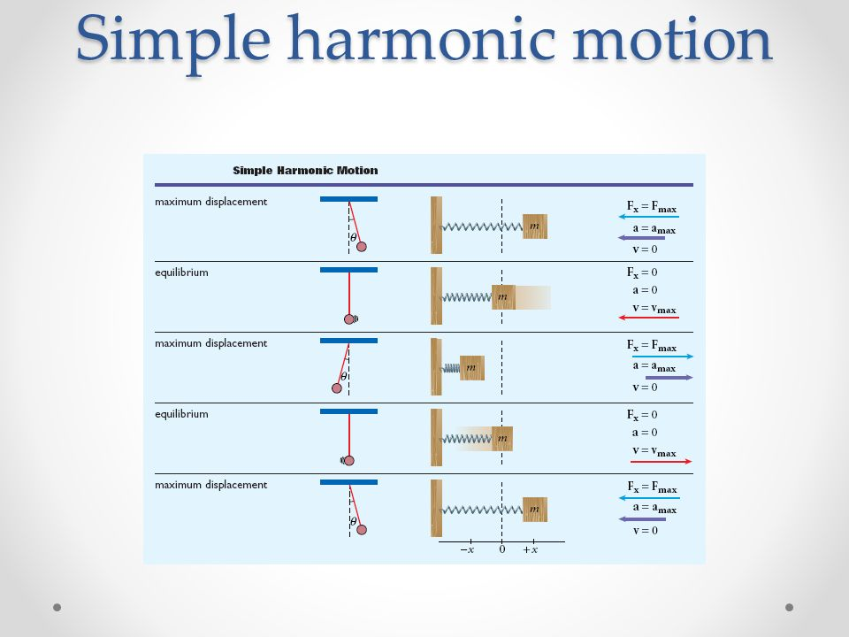 Section 1 Simple Harmonic Motion Ppt Download. 17 Simple Harmonic Motion. Worksheet. Simple Harmonic Motion Worksheet At Clickcart.co