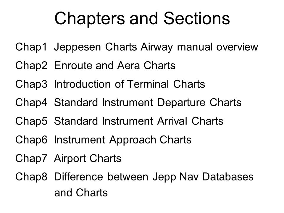 air navigation teaching research section cafuc fts ppt download rh slideplayer com Jeppesen Chart User Guide jeppesen airway manual introduction
