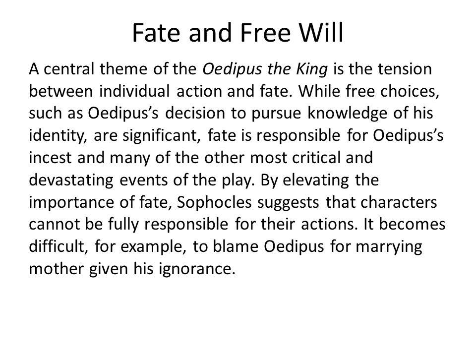 oedipus themes