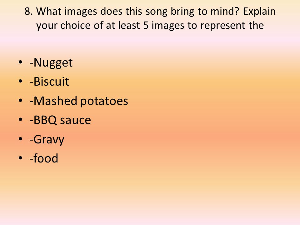 Lyric nugget in a biscuit lyrics : Song Lyrics Nugget In A Biscuit. - ppt download
