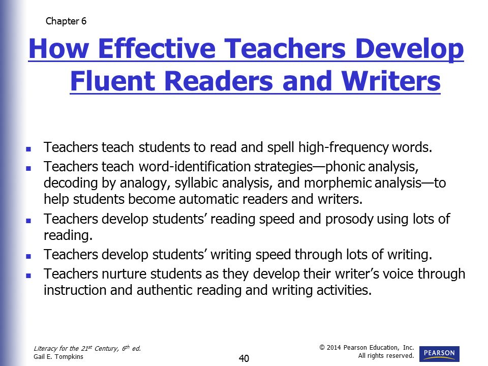 a report on five instructional strategies of increasing reading fluency among students Designed to significantly increase the reading abilities of students ages eight through adult within one year, the curriculum is decidedly un-canned, is adaptable to various instructional settings, and is simple to use-a perfect choice for response to intervention tiered instruction.