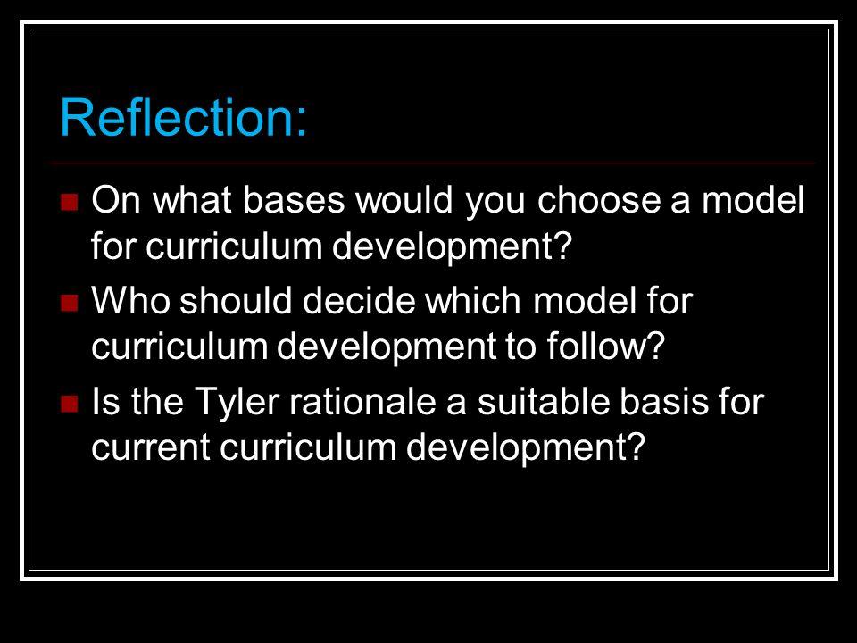 bases of curriculum development