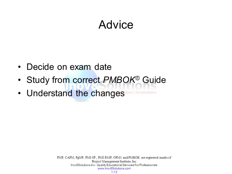 Project Management Body Of Knowledge Ppt Download