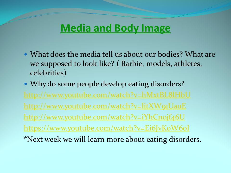 Girls and Body Image: Media's Effect, How Parents Can Help