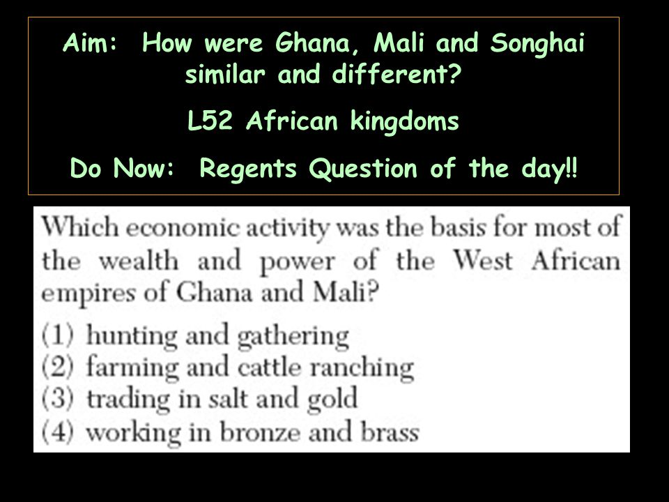 Aim how did west african kingdoms function l51 africa ppt download 3 aim ccuart Choice Image