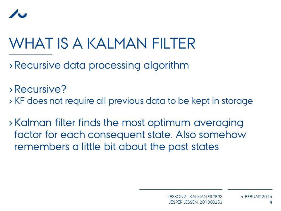 Lesson 2 – kalman Filters - ppt download