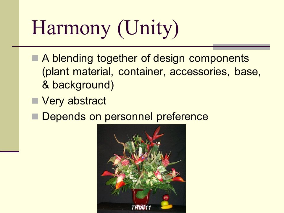 Principles Of Floral Design Ppt Video Online Download