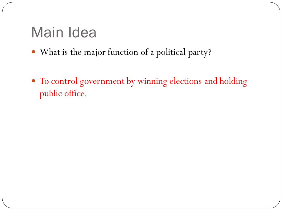 Printable Worksheets political party worksheets : Political Parties Review - ppt video online download