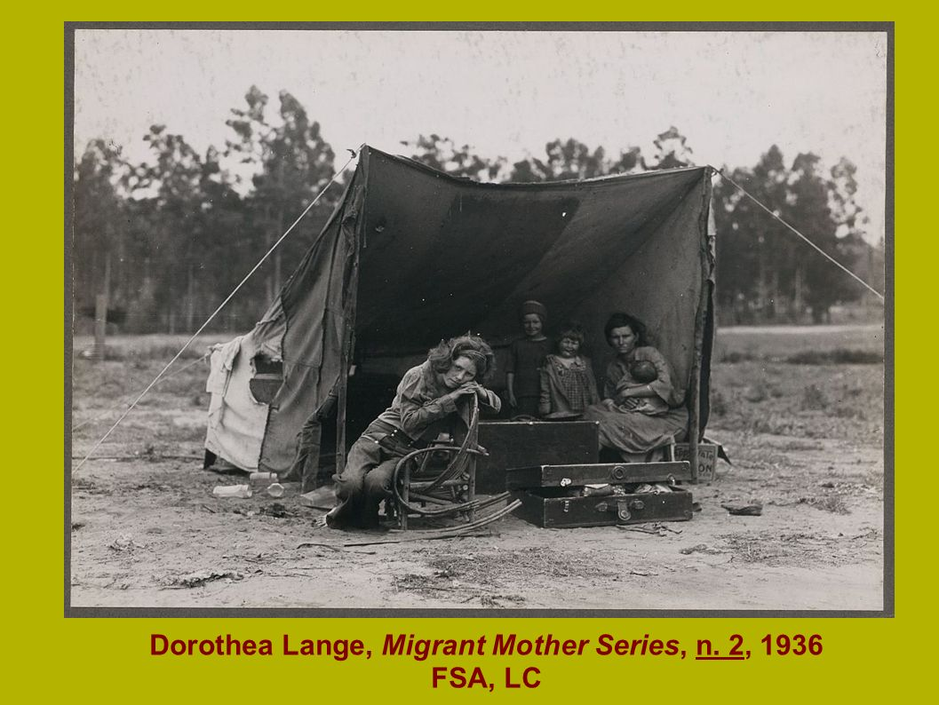 Dorothea Lange, Migrant Mother Series, n. 2, 1936 FSA, LC