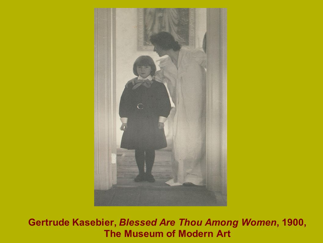 Gertrude Kasebier, Blessed Are Thou Among Women, 1900, The Museum of Modern Art