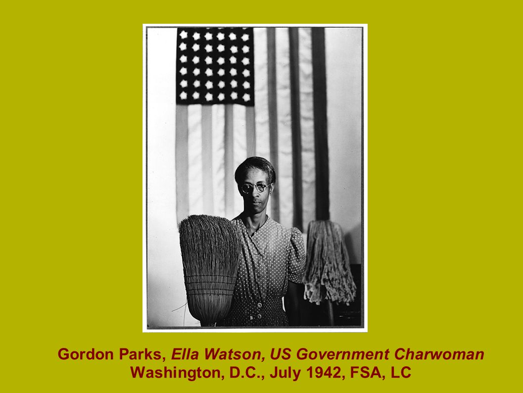 Gordon Parks, Ella Watson, US Government Charwoman Washington, D. C