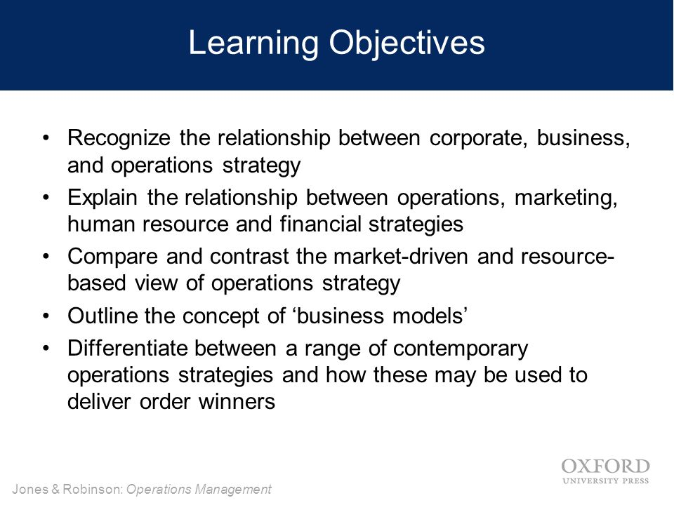resource driven strategy