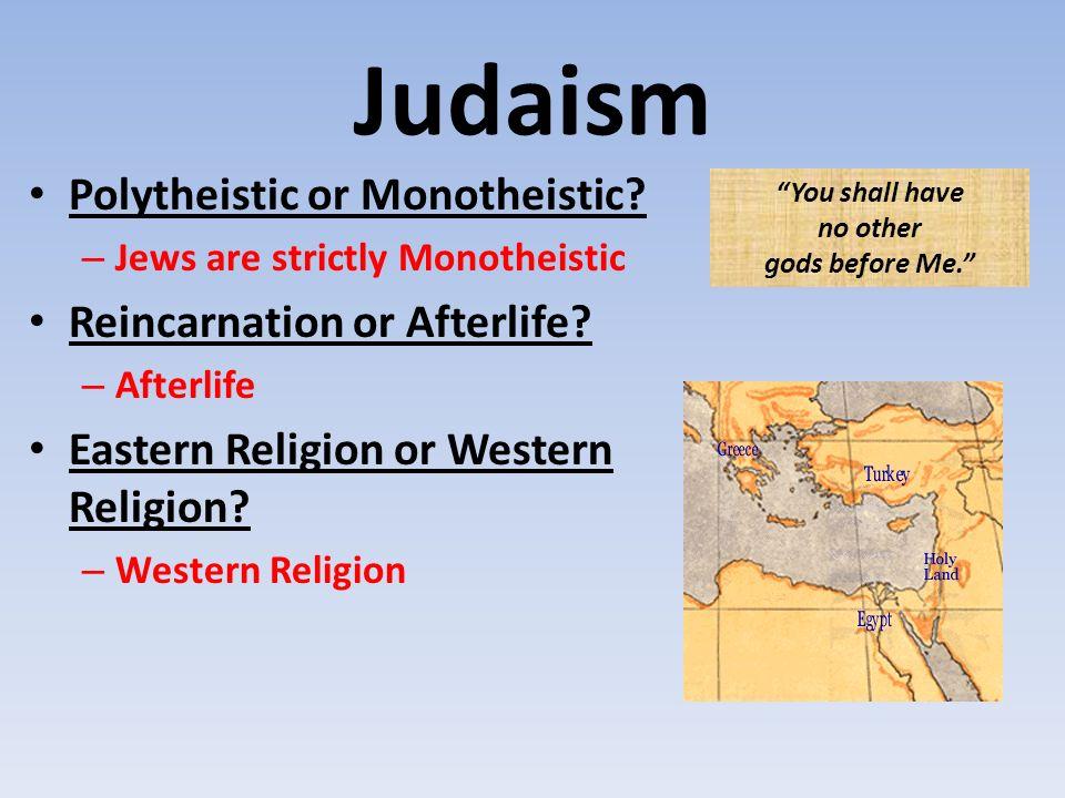 judaism polytheistic