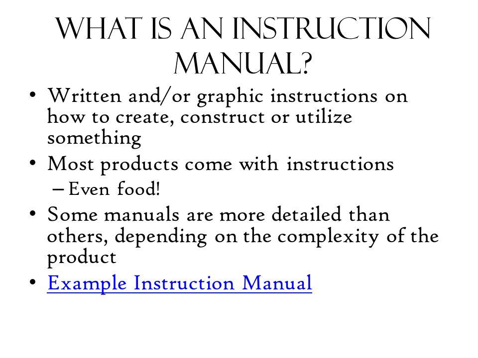 exelent sample instruction manual template illustration best