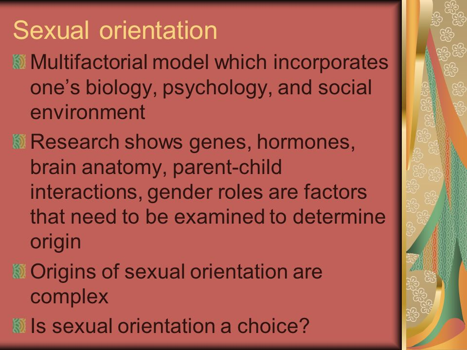 Is sexual orientation a choice
