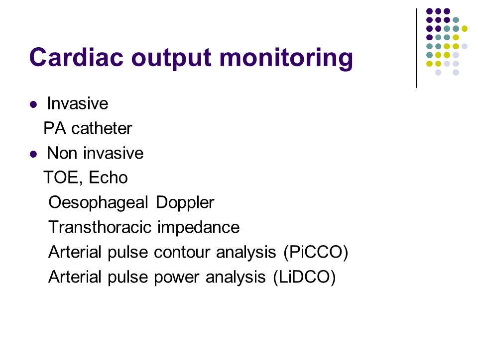 Determinants of cardiac output for captivate.