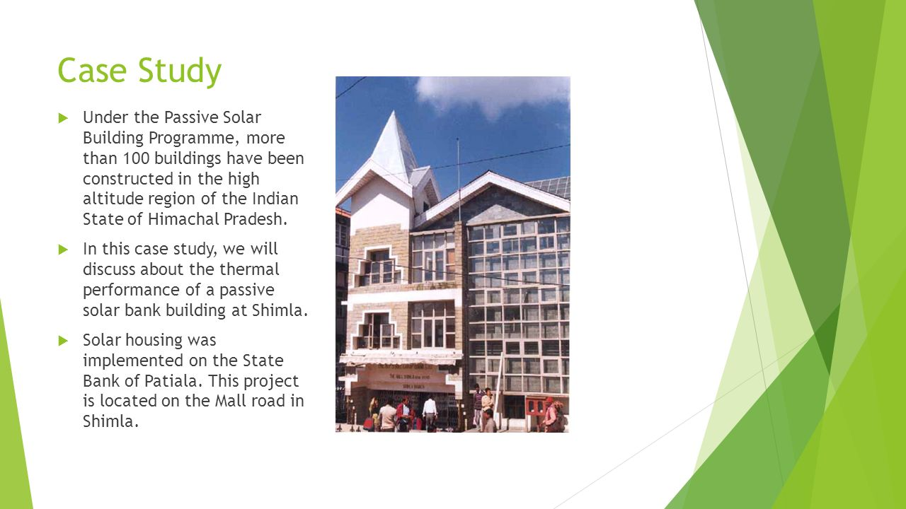 Sustainable passive solar housing in Himalayas - ppt download
