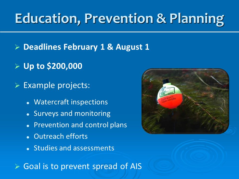 Education, Prevention & Planning