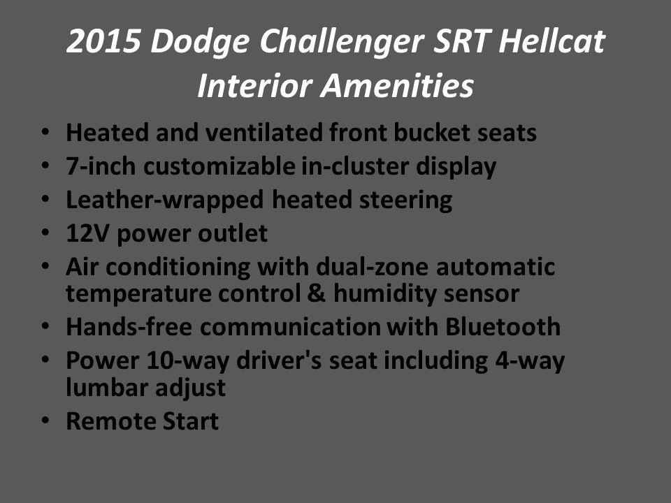 2015 Dodge Challenger Srt Hellcat Ppt Video Online Download