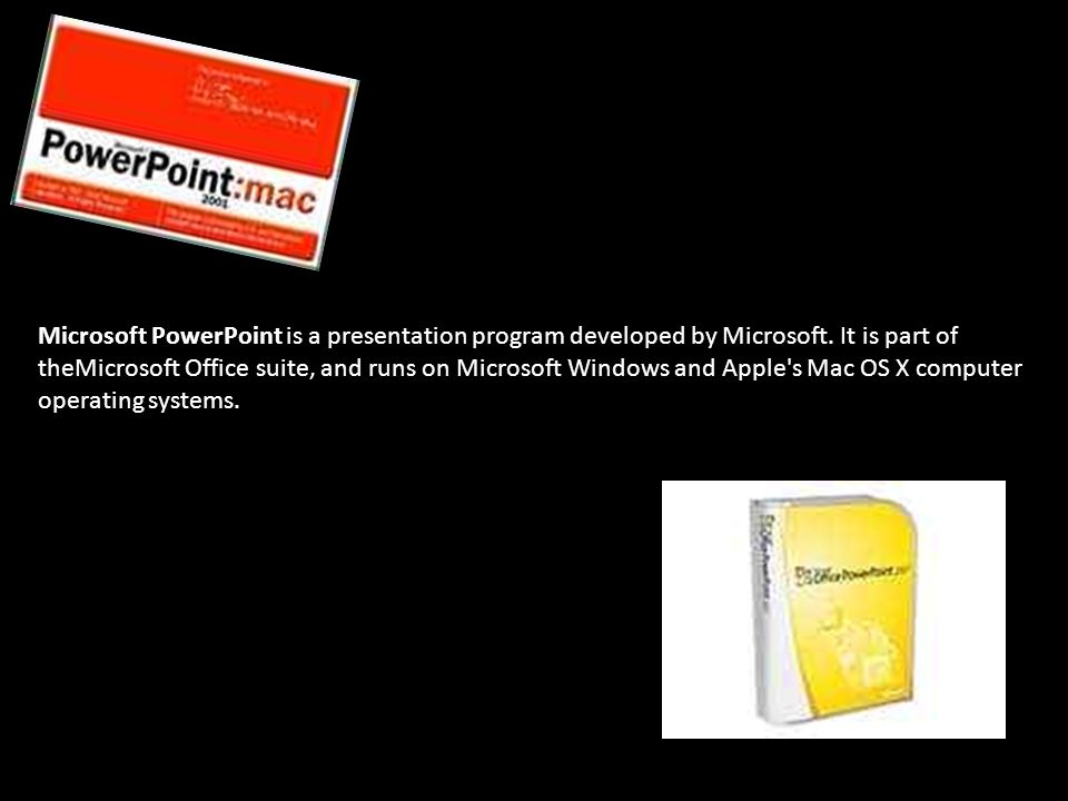 Microsoft powerpoint is a presentation program developed by microsoft powerpoint is a presentation program developed by microsoft toneelgroepblik Gallery