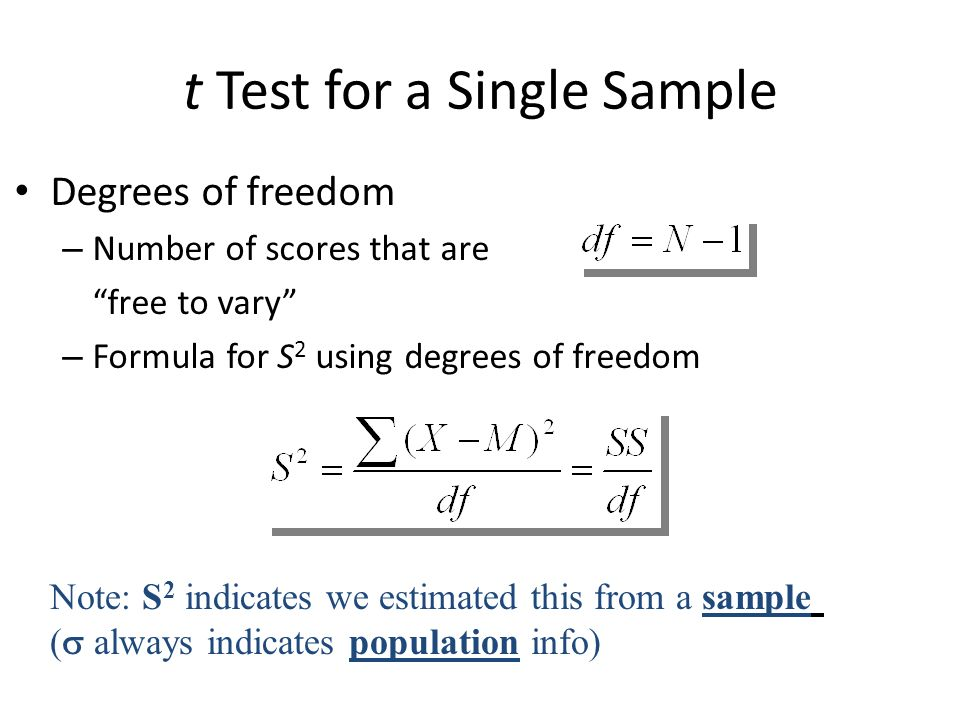 Independent sample t-test formula ppt video online download.