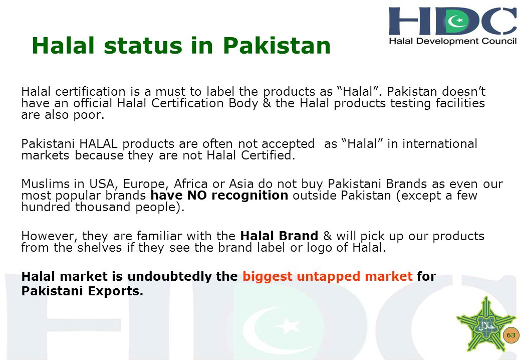 POWER OF HALAL BRANDING\' by Asad Sajjad Secretary General / CEO ...
