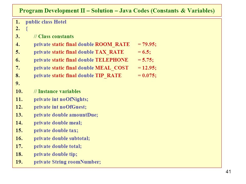 Program Development Objectives - ppt download