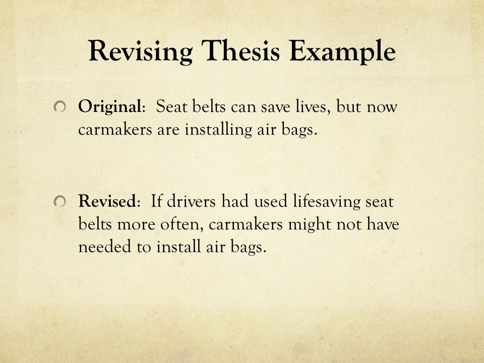 Seat belt thesis statement cover letter speculative