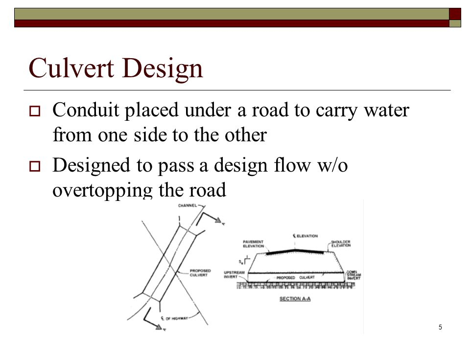 CTC 261 Culvert Basics  - ppt video online download