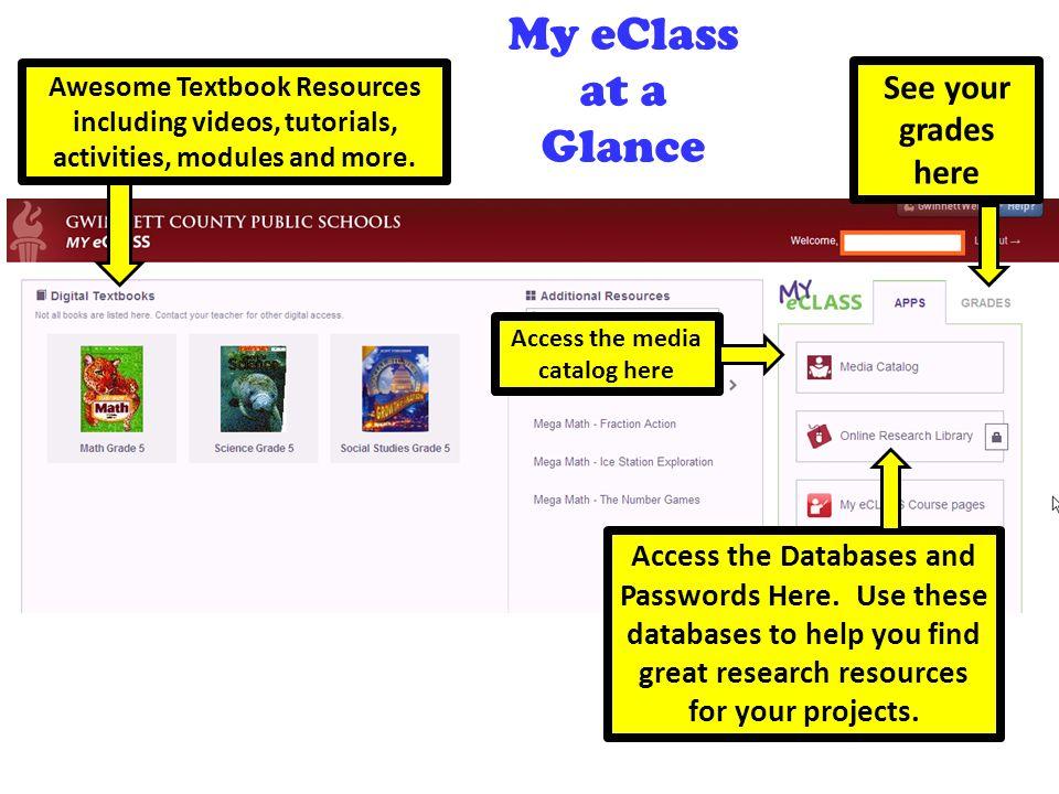 My E Clas >> My Eclass Destiny Catalog And Follett Shelf E Books Ppt Video