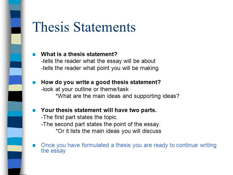 Essay On Health And Fitness  Thesis Statements  Essays On English Literature also How To Write A Synthesis Essay How To Write A Thematic Essay  Ppt Video Online Download Example Essay Papers