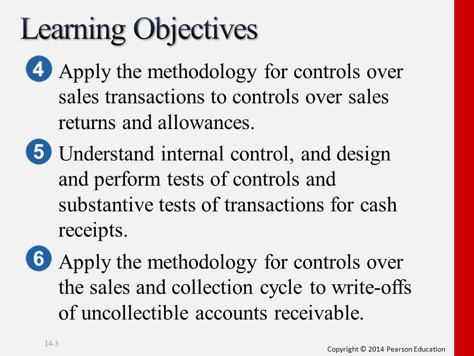 Audit Of The Sales And Collection Cycle Ppt Video Online Download