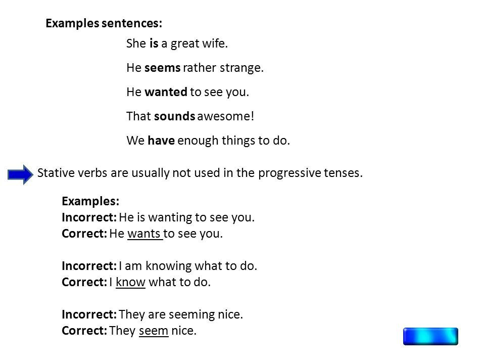 DINAMIC vs. STATIVE VERBS - ppt video online download