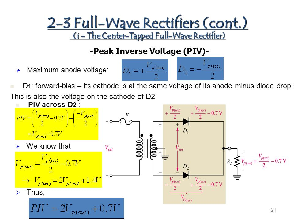 CHAPTER 2 Diode Applications - ppt video online download