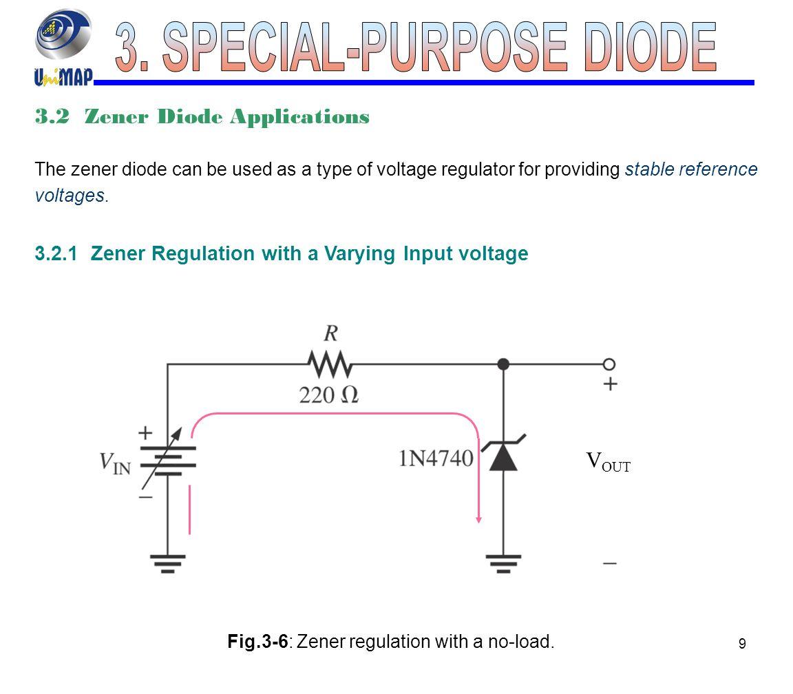 Special Purpose Diode Ppt Video Online Download Volt Regulator Using Dioda Zener Simple Schematic Diagram