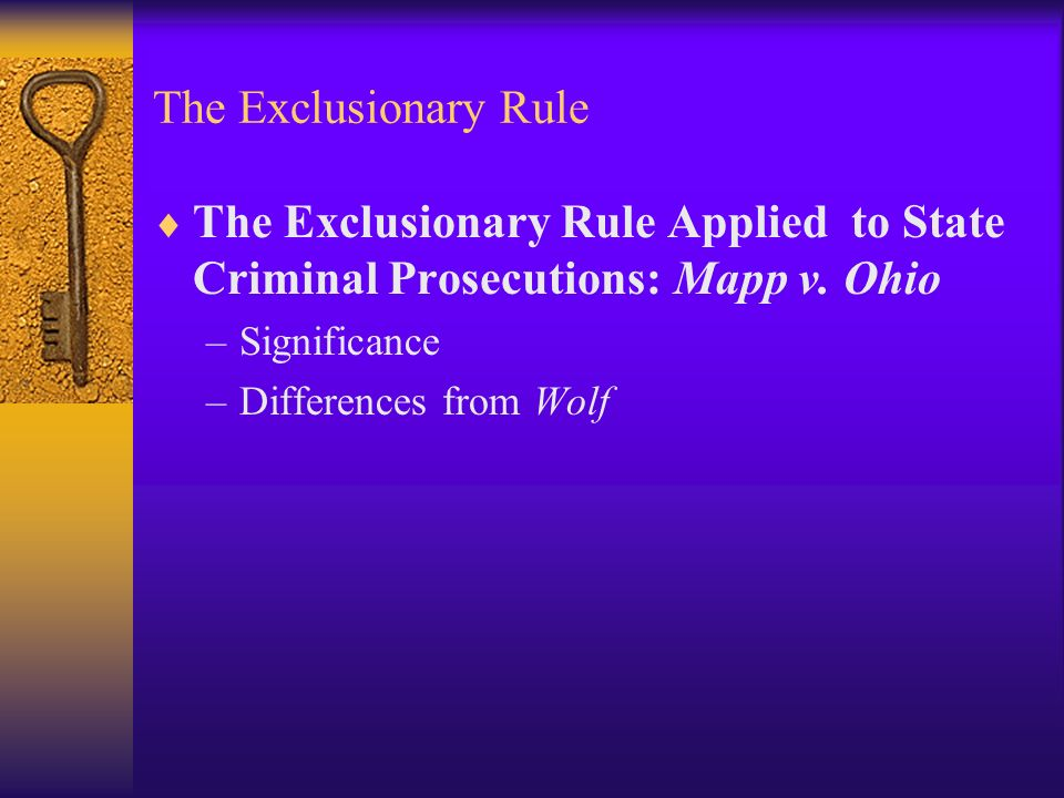 write a descriptive essay on terry v ohio the exclusionary rule Terry v ohio essay  facts of the case an police officer by the name of mcfadden observed two men standing at a street corner - terry v ohio essay introduction.