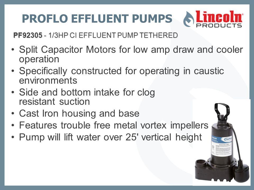PROFLO Pumps  - ppt video online download