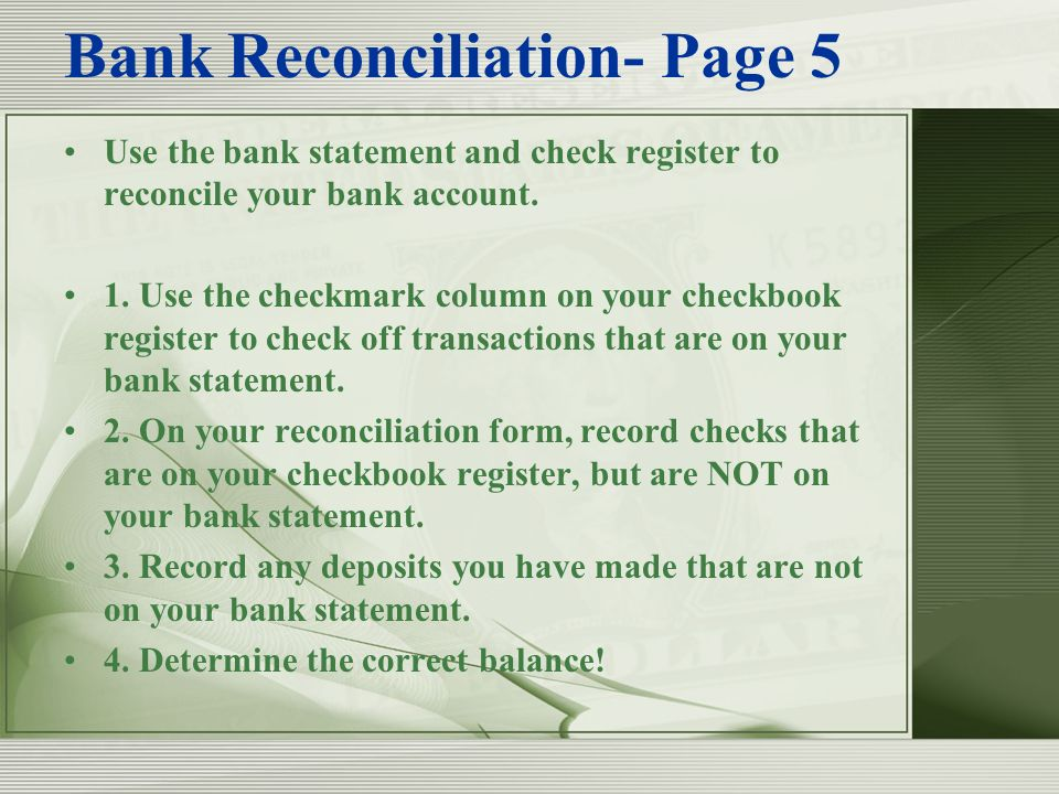 chapter 7 banking services banks help you move your money ppt