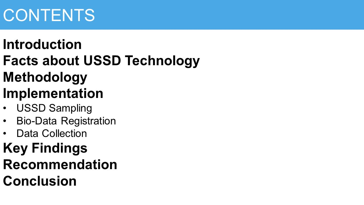 USSD MOBILE TECHNOLOGY Uganda's Experience - ppt download
