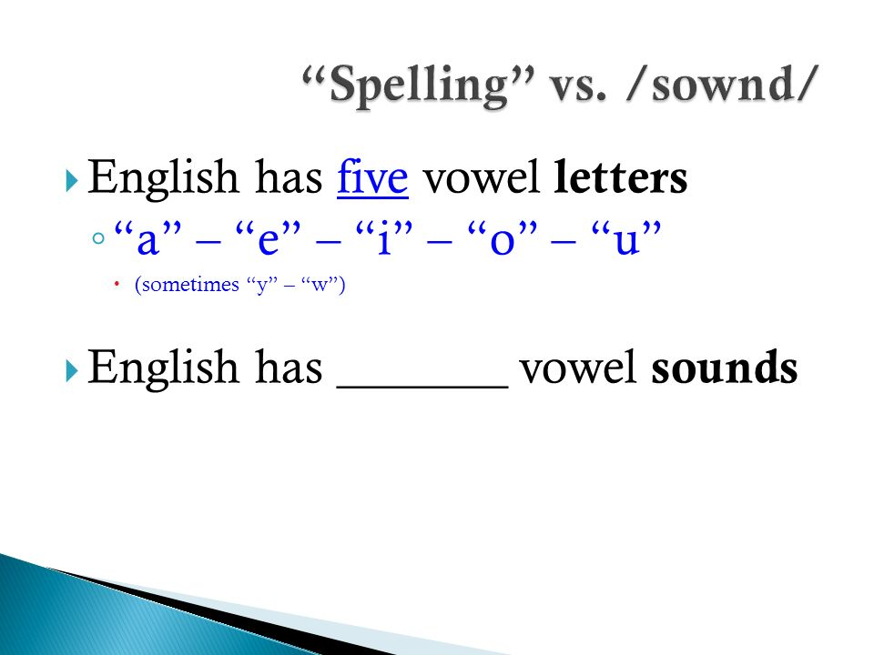 The Vowel Sounds Of English With Focus On Front Vowels Ppt Video
