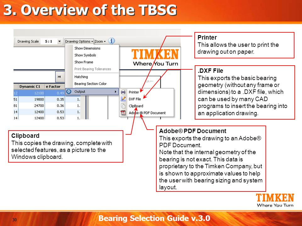 Timken bearing tolerance chart