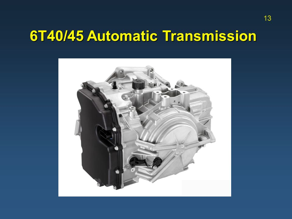 6t40 Transmission Solenoid