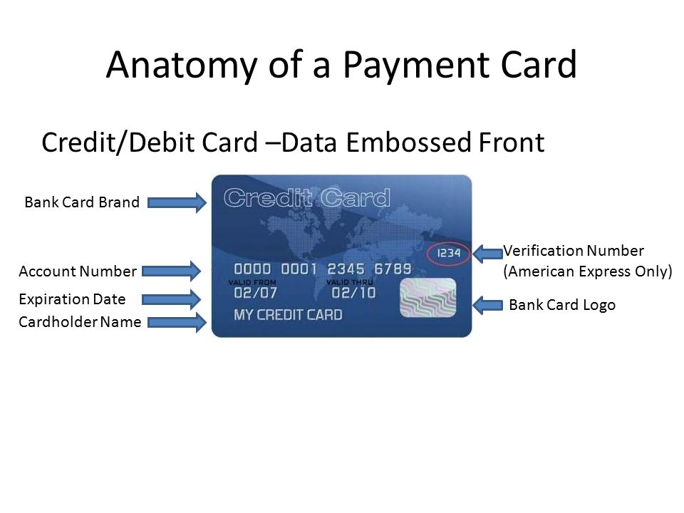 e-Learning Module Credit/Debit Payment Card Acceptance and Security ...
