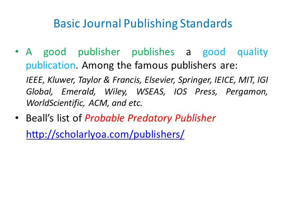 Prosedur & Strategi Menulis Artikel di Jurnal Internasional - ppt