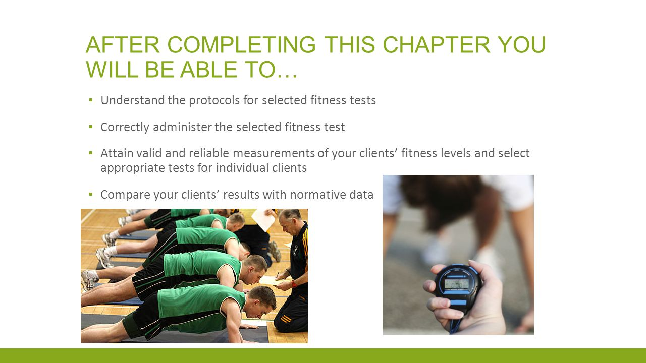 Fitness testing protocols and norms - ppt video online download