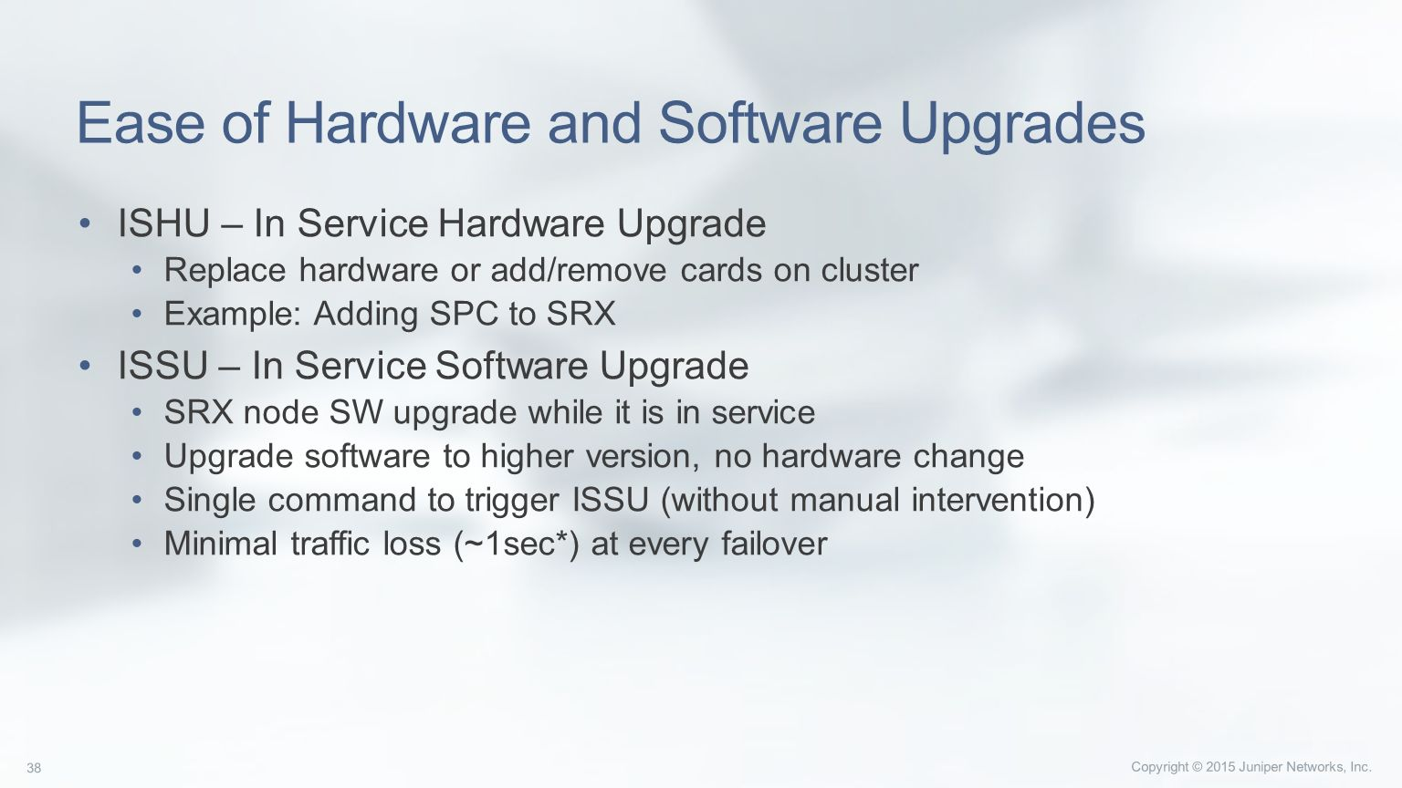 High End SRX Series Securing the Data Center  - ppt download